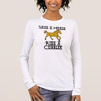 ride a cobbler long sleeve T-Shirt