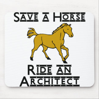 ride an architect mouse pad