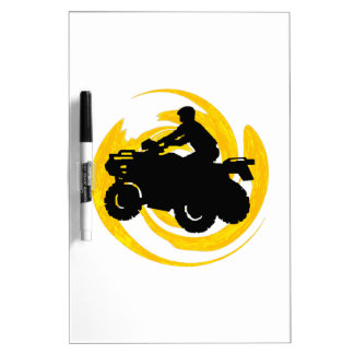 Ride and Grind Dry Erase Board