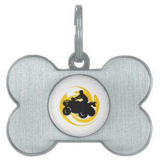 Ride and Grind Pet Name Tag