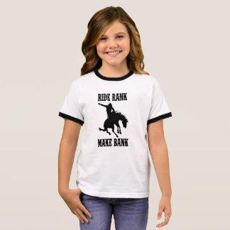 Ride bank rank made bank ringer T-Shirt