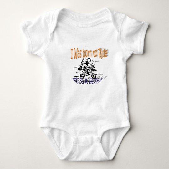 RIDE, born to Baby Bodysuit