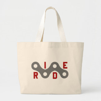 Ride (Chain) Large Tote Bag