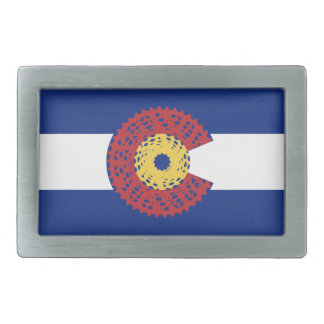 Ride Colorado (Bicycle Cassette) Belt Buckles