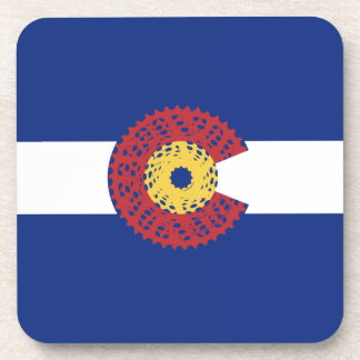 Ride Colorado (Bicycle Cassette) Coaster