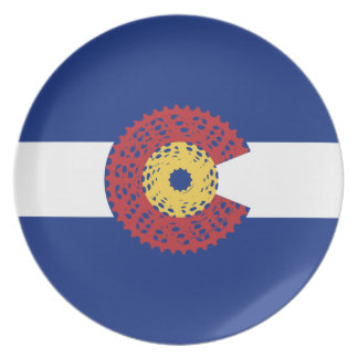 Ride Colorado (Bicycle Cassette) Plate