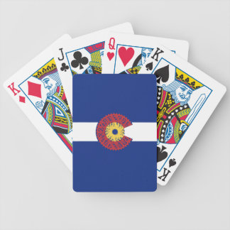 Ride Colorado (Bicycle Cassette) Poker Deck