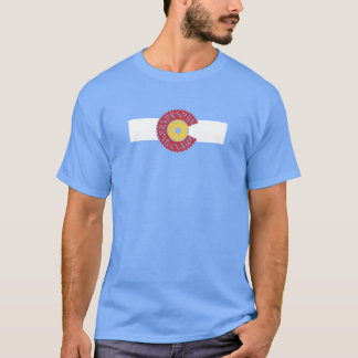 Ride Colorado (Bicycle Cassette) T-Shirt