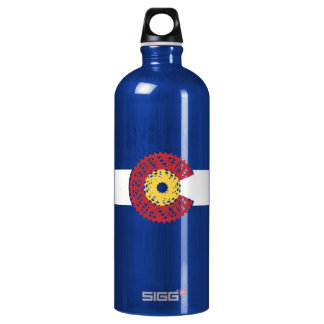 Ride Colorado (Bicycle Cassette) Water Bottle