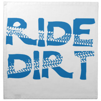 Ride Dirt Napkin