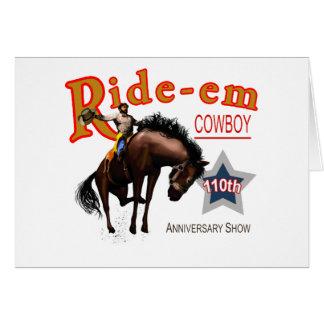 Ride-em Cowboy Greeting Card