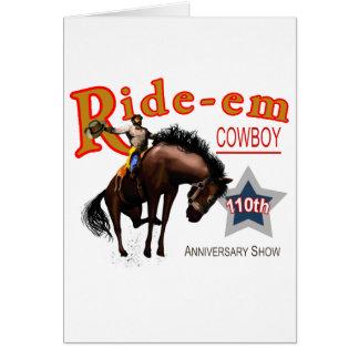 Ride-em Cowboy Greeting Cards