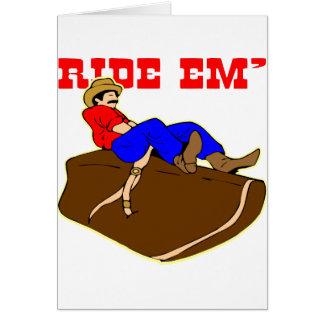 Ride 'Em Cowboy Greeting Cards