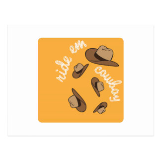 Ride Em Cowboy Postcards