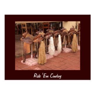 Ride 'Em Cowboy Postcard