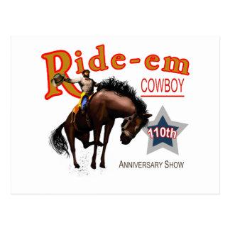 Ride-em Cowboy Postcard