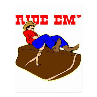 Ride 'Em Cowboy Postcards