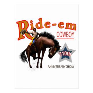 Ride-em Cowboy Post Cards