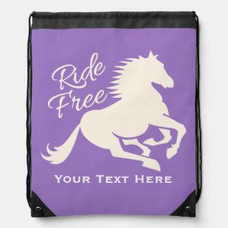 Ride Free custom color bag Backpacks