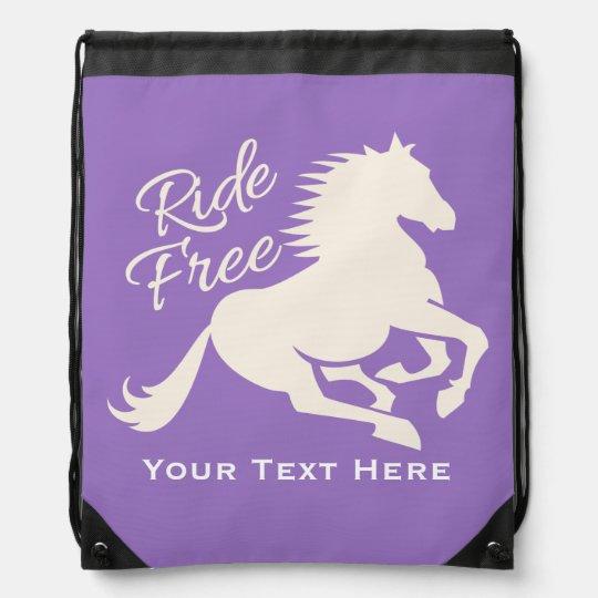Ride Free custom colour bag