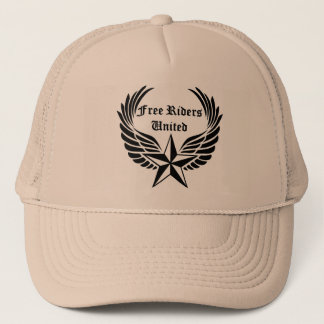 Ride Free with Free Riders United Trucker Hat