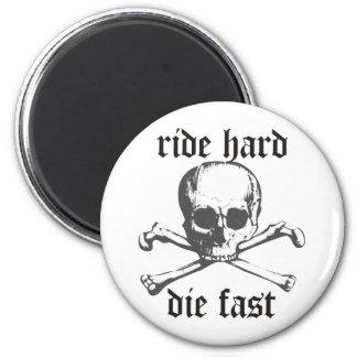 Ride Hard Fridge Magnets