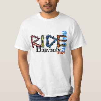 Ride Heavenly California elevation value tee