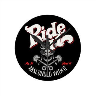 Ride It -11117 Round Clock