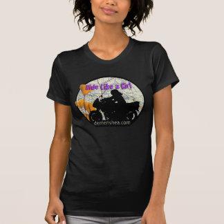 ride like a girl...sportbike T-Shirt