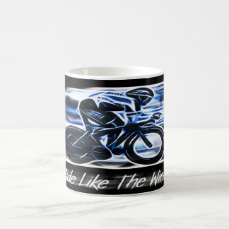 Ride Like The Wind - Cyclist's Drinks Mug
