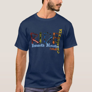 Ride Mammoth Mountain California elevation tee