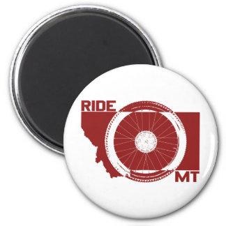 Ride Montana Magnet