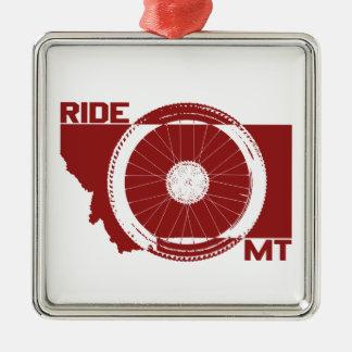 Ride Montana Metal Ornament