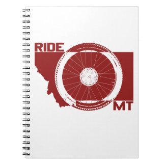 Ride Montana Spiral Notebook