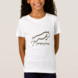 Ride more girls horse tee shirt