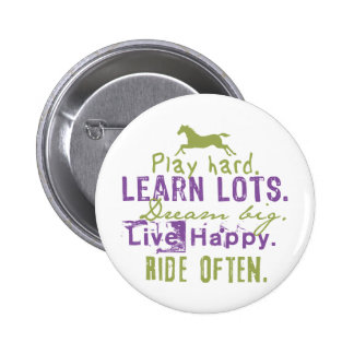 Ride Often Pinback Button