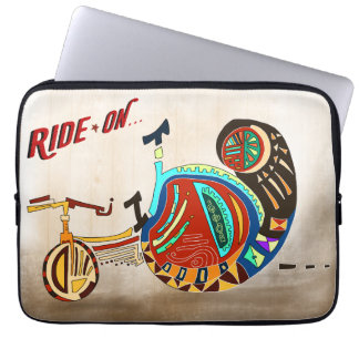 Ride On! Laptop Sleeve