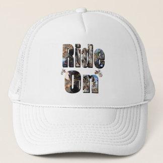 Ride On, Motorbike Picture Logo, Trucker Hat