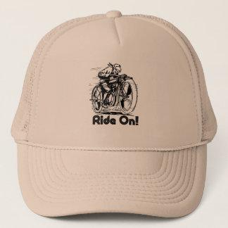 ride on trucker hat