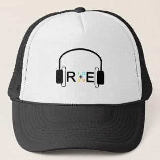 RIDE+RAVE HEADPHONES TRUCKER HAT