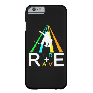 RIDE+RAVE SNOWBOARDER BARELY THERE iPhone 6 CASE