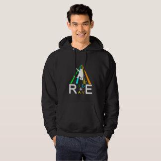 RIDE+RAVE SNOWBOARDER HOODIE