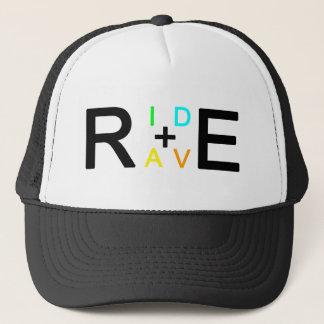 RIDE+RAVE TRUCKER HAT