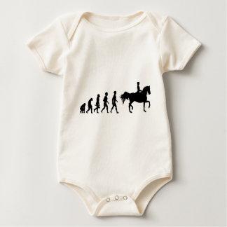 Ride riders horses show jumper riding stud baby bodysuit