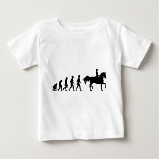 Ride riders horses show jumper riding stud baby T-Shirt
