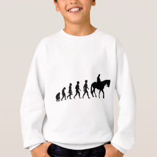 Ride riders horses show jumper riding stud sweatshirt