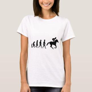 Ride riders horses show jumper riding stud T-Shirt