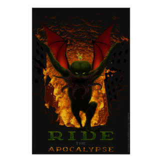 Ride the Apocalypse Poster