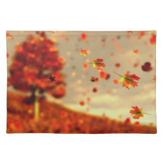 Ride the October Breeze Placemat