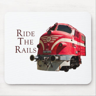 Ride the Rails Mouse Pad
